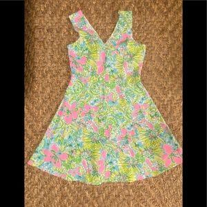 Lilly Pulitzer knit dress A line medium